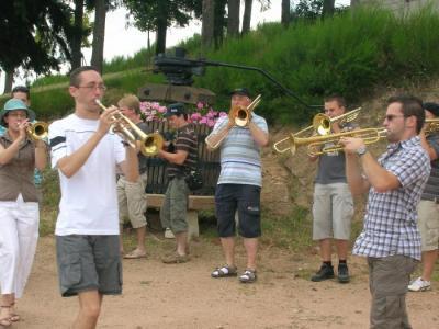 Visite de nos amis Belges en musique