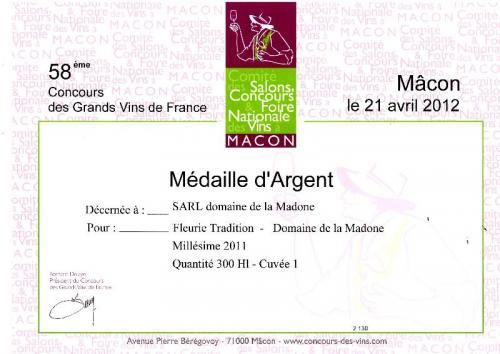 58 ème concours des Grands Vins de France à Macon