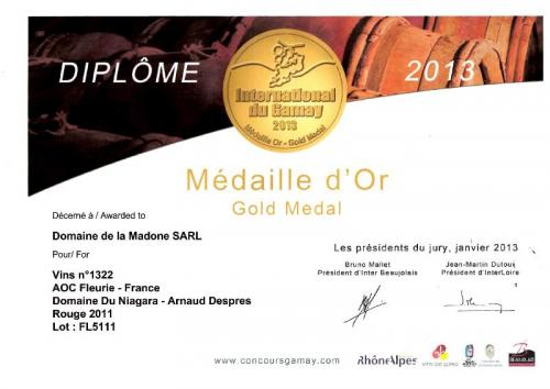 Concours 2013